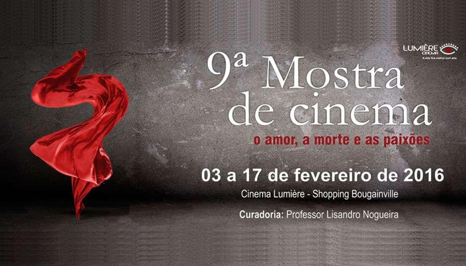 Mostra O Amor, A Morte e as Paixões terá 19 filmes inéditos