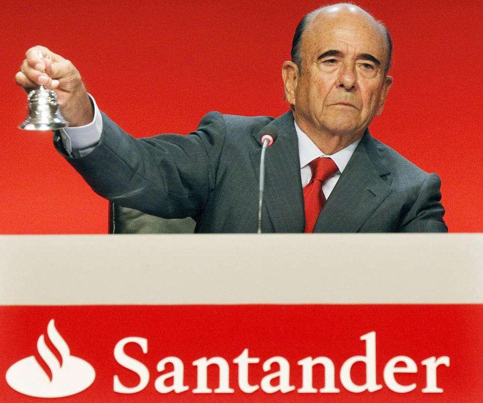 Morre aos 79 anos Emílio Botin, presidente do Santander