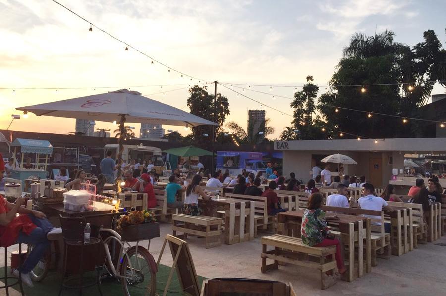 Quintal Food Park é inaugurado no Setor Bueno