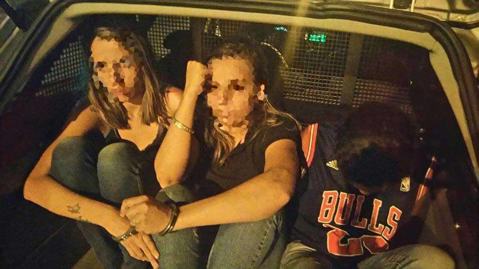 Polícia prende três mulheres que praticavam roubos no Setor Bueno