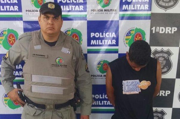 PM prende homem suspeito de estupro, em Goiânia