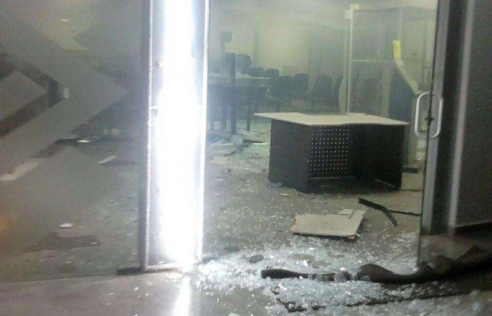 Bandidos explodem agências bancárias em Aloândia e Itapirapuã, no interior de Goiás