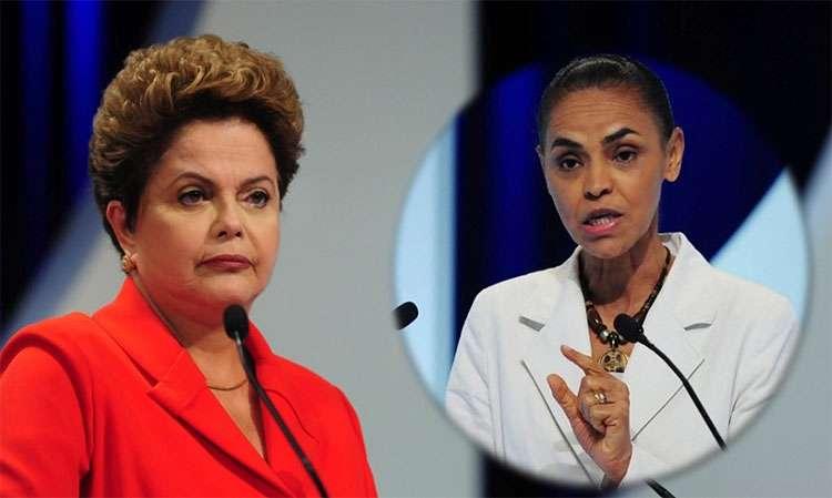 Em debate na TV, Dilma ataca Marina e 'esquece' Aécio