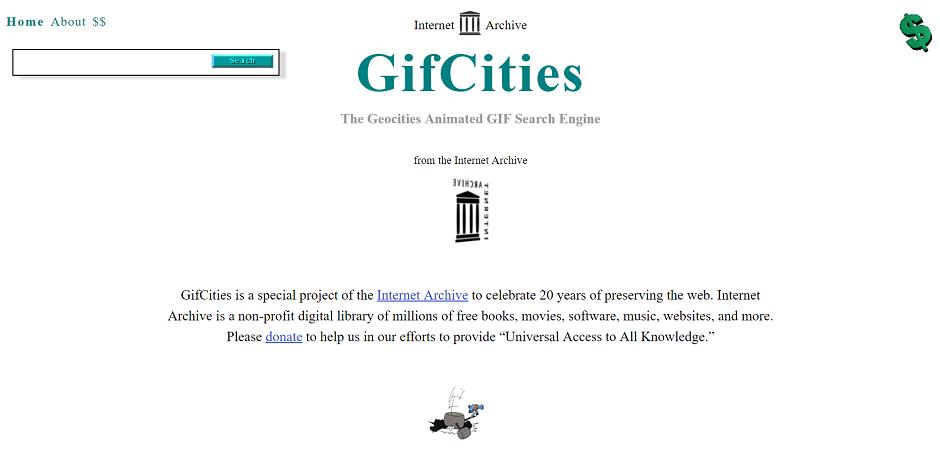 Internet Archive cria página com 4.5 milhões de gifs