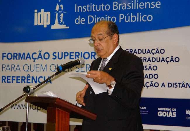 Em Goiânia, Gilmar Mendes aborda aspectos polêmicos da Lei da Ficha Limpa