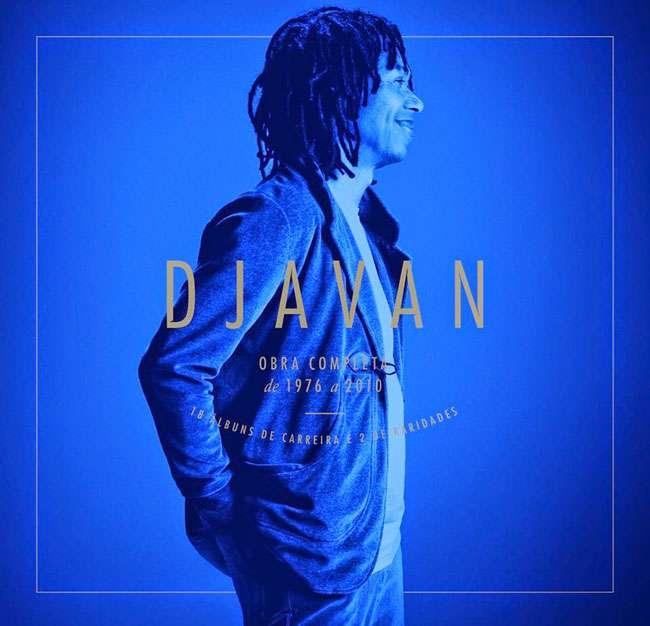 Caixa Djavan compila 18 álbuns da carreira do compositor