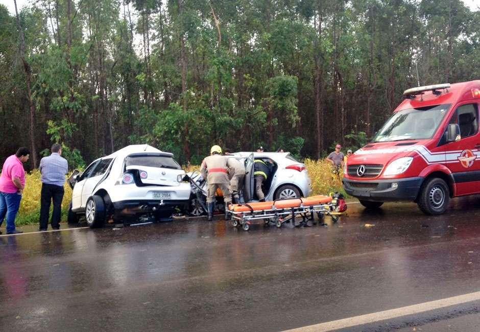 Três pessoas morrem e uma fica ferida após um grave acidente na GO-060
