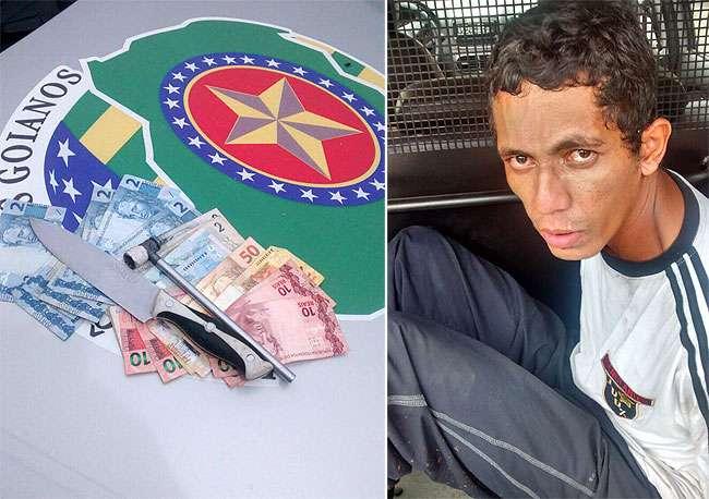 Ladrão andava de táxi para cometer roubos na região da Avenida Rio Verde