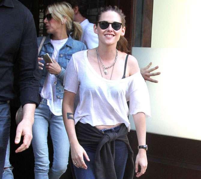 Kristen Stewart está feliz por ser autêntica