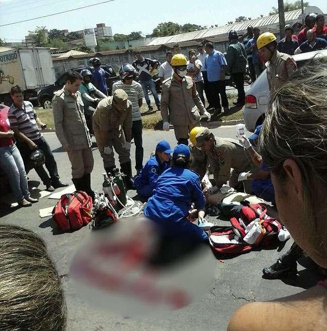 Motociclista morre em acidente na Avenida Castelo Branco, em Goiânia
