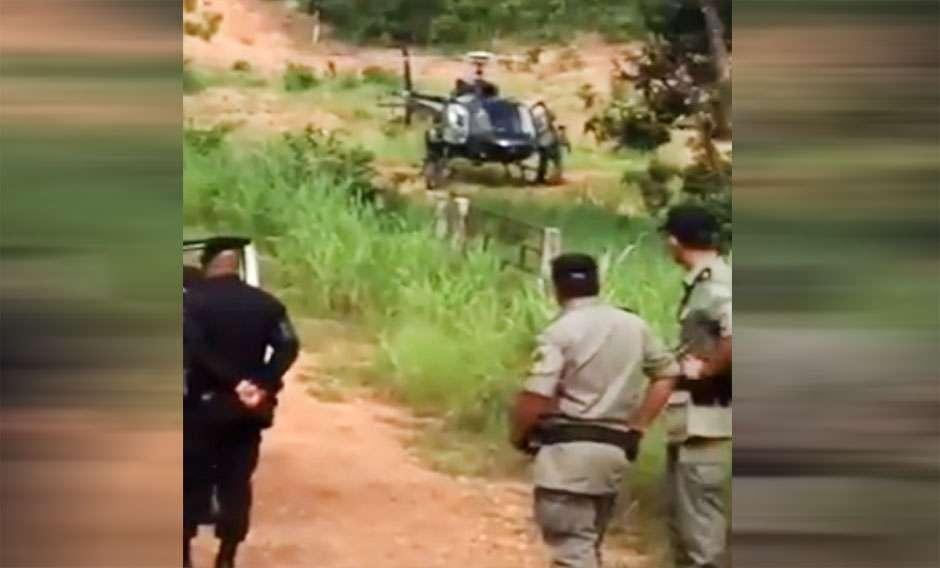 Continuam as buscas por bando que explodiu agência bancária em Mara Rosa
