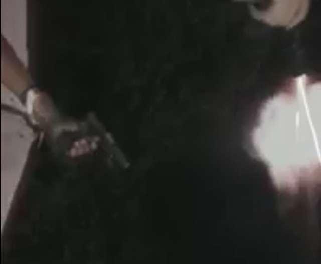 Em Goiânia, bandidos comemoram chegada do réveillon com rajadas de submetralhadoras