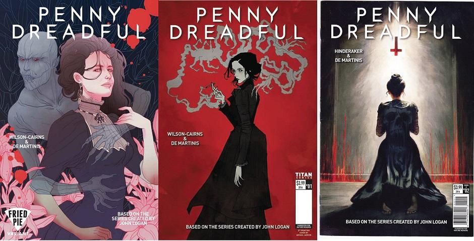 Penny Dreadful irá continuar nas HQs