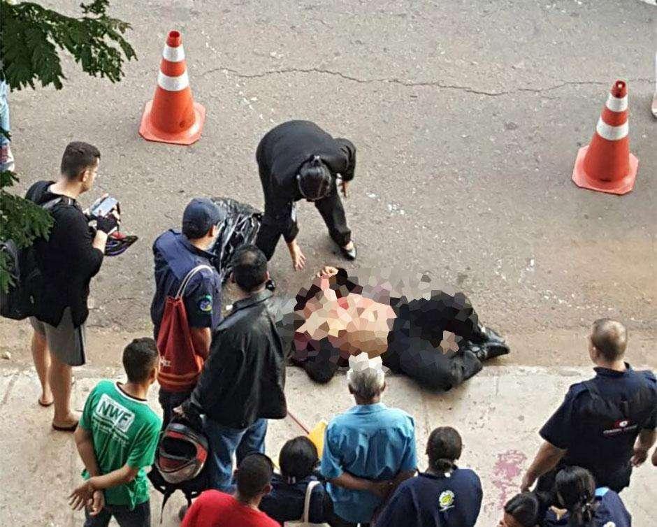 Homem esfaqueado em frente ao TRT está em estado grave