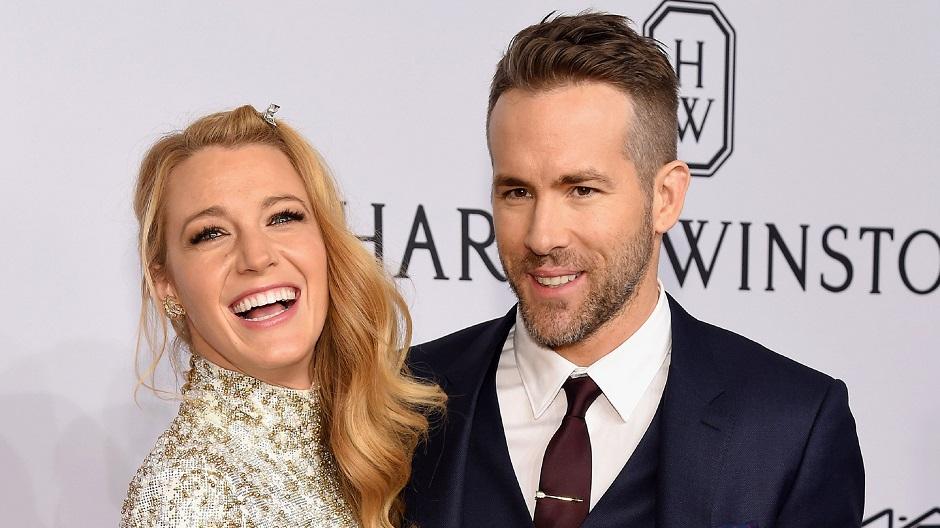 Ryan Reynolds revela o sexo do segundo filho com Blake Lively
