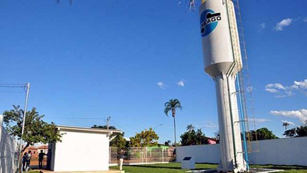 Interligação de adutora corta fornecimento de água no Bairro Goyá