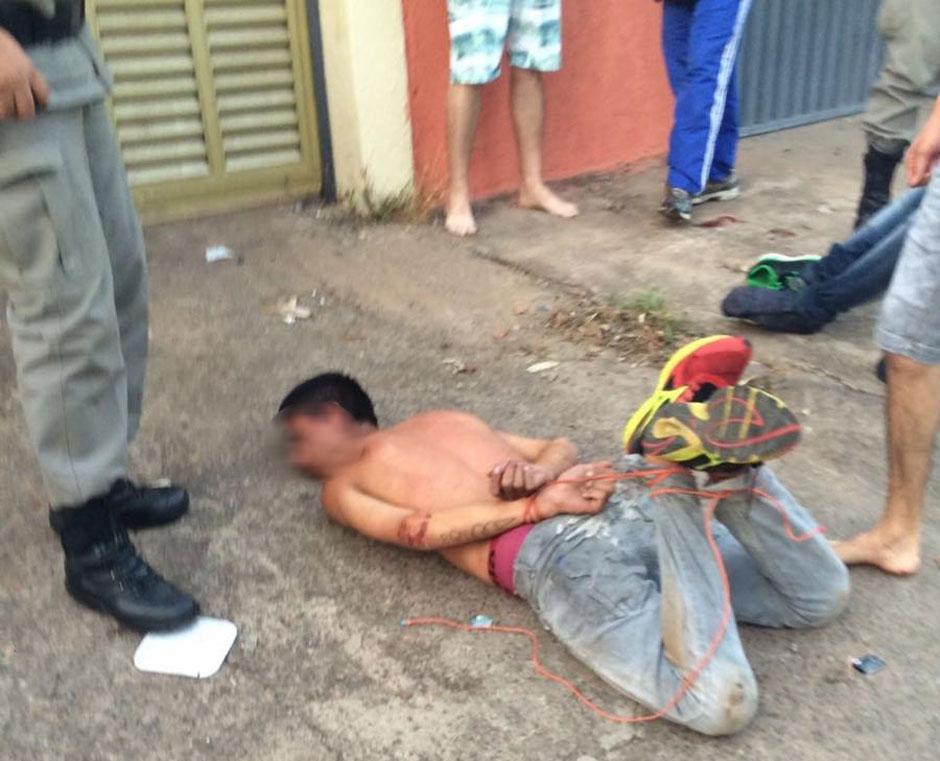 Assaltantes são linchados por populares no Parque Oeste Industrial