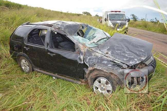 Mulher morre em acidente na GO–154, entre Uruana e Carmo do Rio Verde