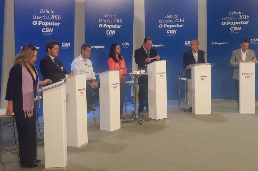 No primeiro debate com Iris, discussão de propostas supera ataques