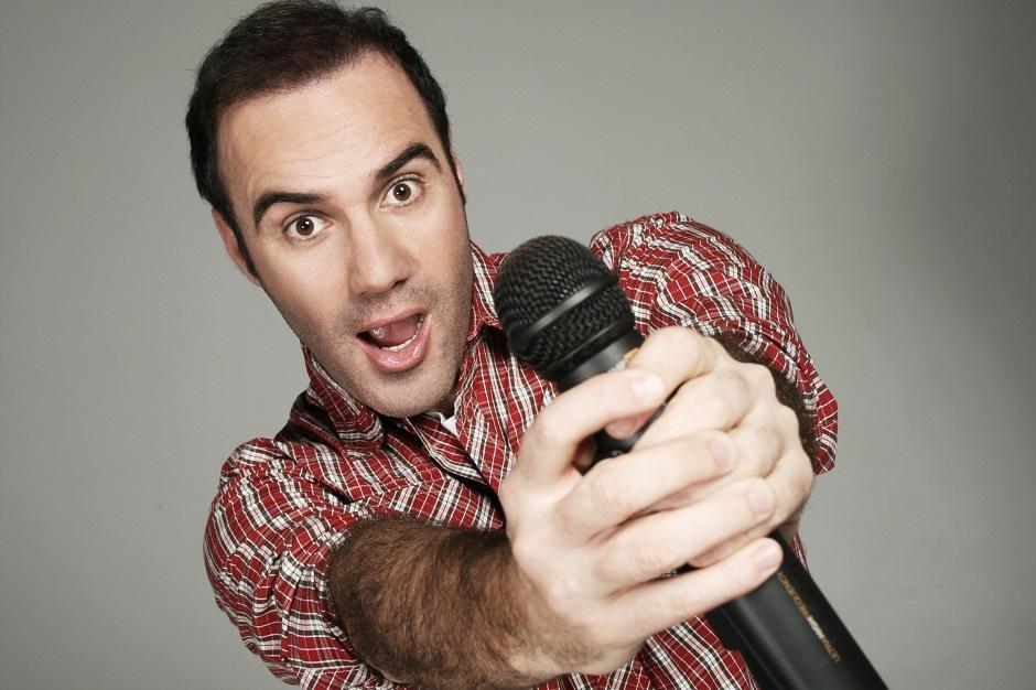Diogo Portugal faz show de stand up comedy