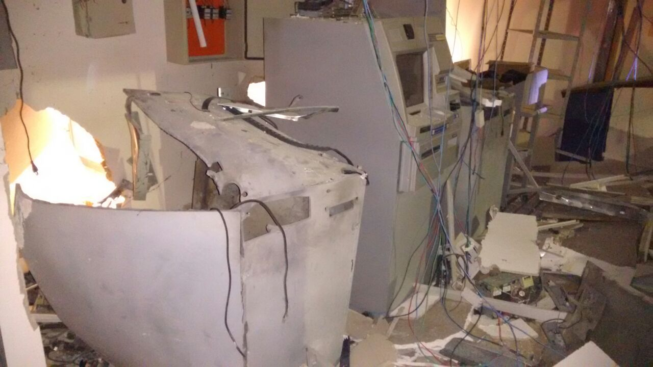 Agência da Caixa Econômica é alvo de bandidos em Orizona (GO)