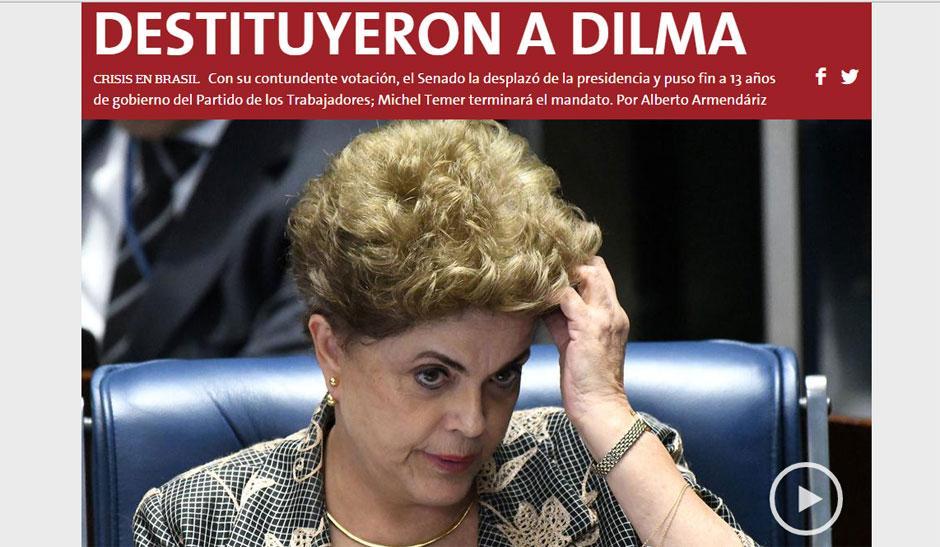 Jornais da América Latina destacam impeachment e comentam desafios de Temer pela frente