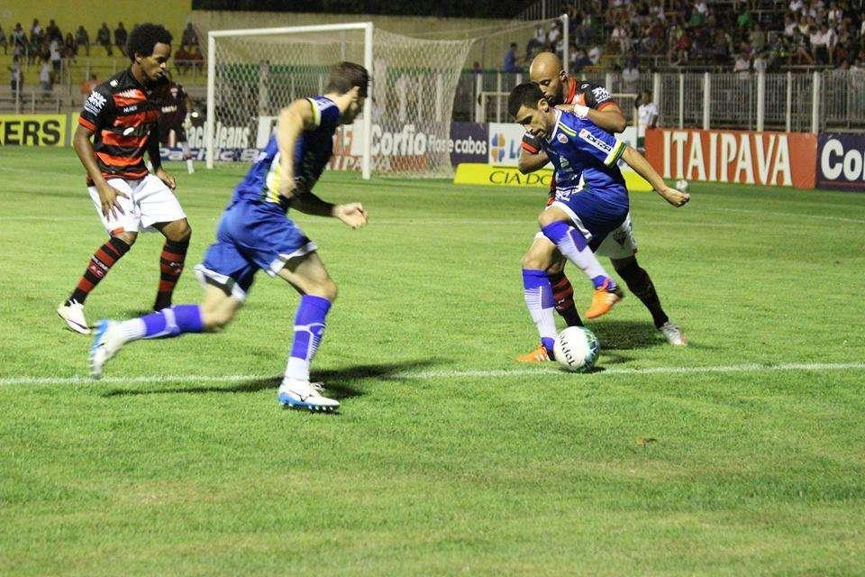 Luverdense vence e acaba com invencibilidade do Atlético-GO