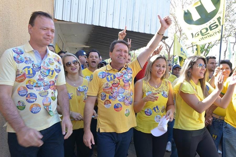 Magal é eleito prefeito de Caldas Novas com 52% dos votos