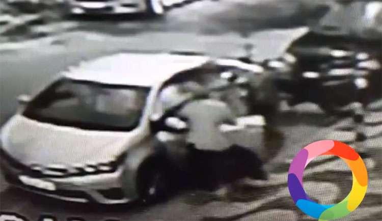 Vítima reage à assalto e mata ladrão na porta de um bar no Setor Bueno