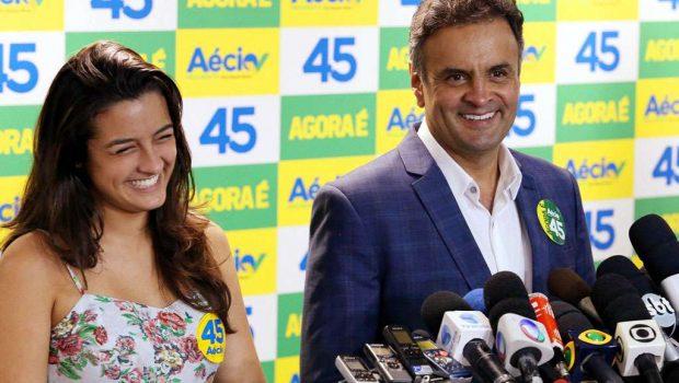 Aécio diz que pesquisas que indicam Dilma à frente são 'estímulo'