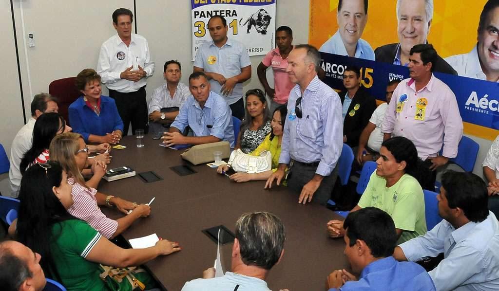 """Candidatos da chamada """"chapinha"""" voltam atrás e apoiam a candidatura de Marconi"""