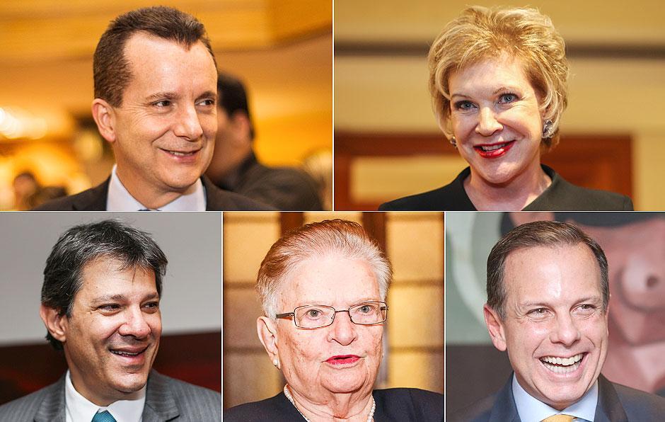 Datafolha: Russomanno cai de 31% para 26%; Marta e Doria crescem