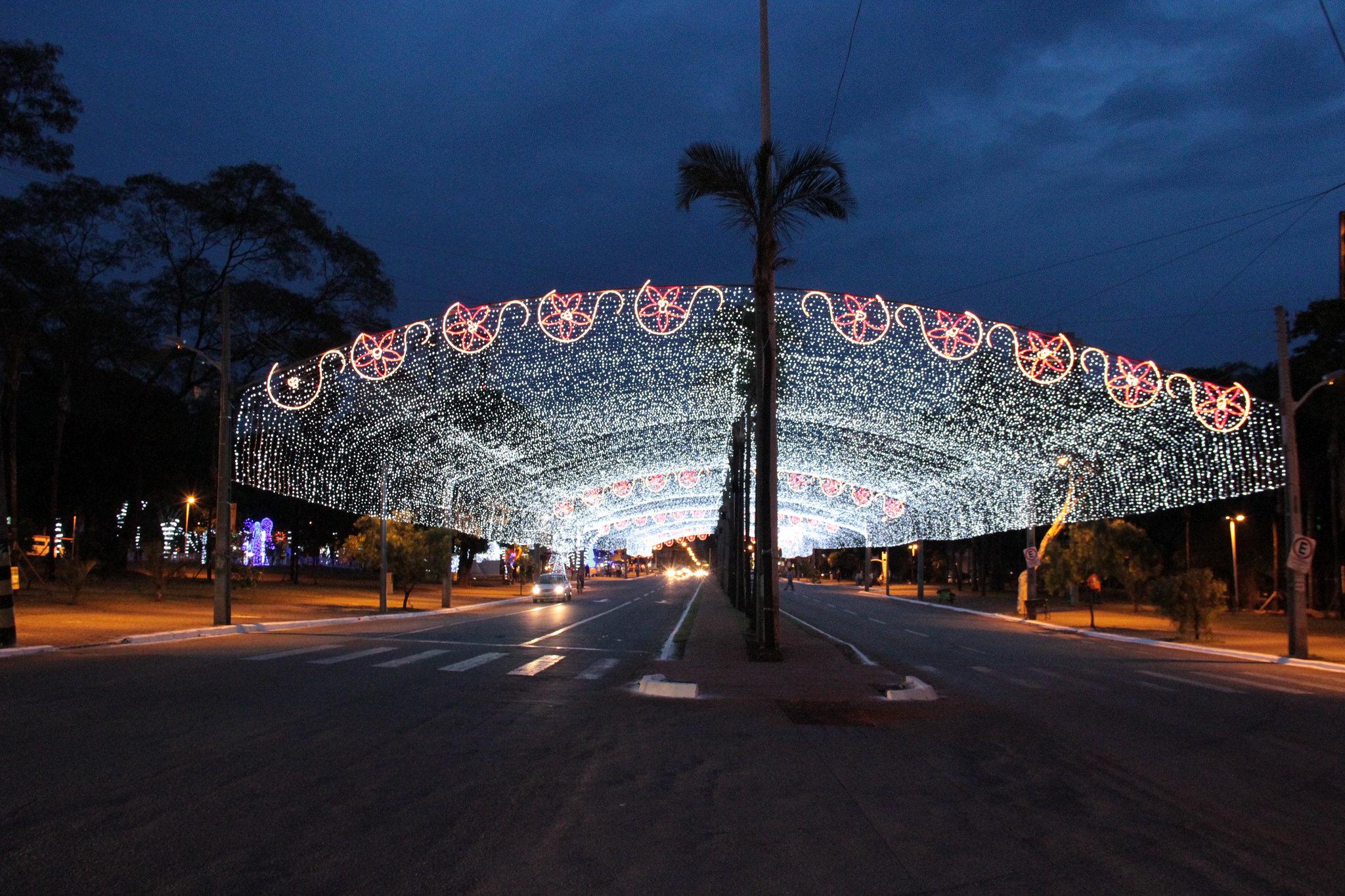 Iluminações de Natal da Praça Tamandaré serão inauguradas na noite desta quinta