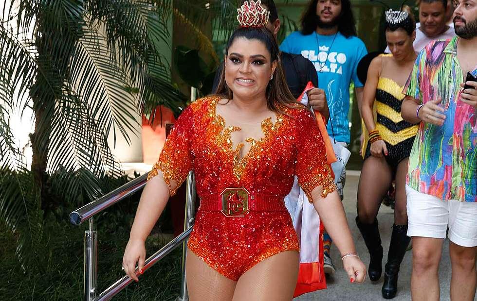 Preta Gil quer promover beijaço no centro do Rio