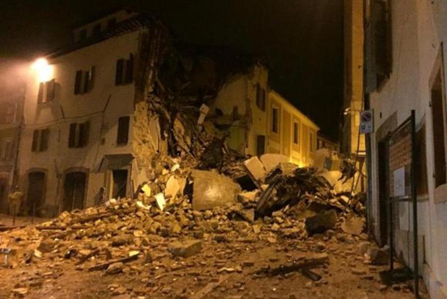 Terra não para de tremer na Itália e 100 réplicas são sentidas