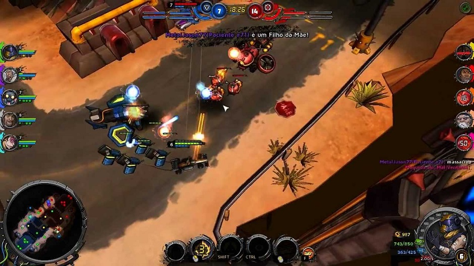 Você pode jogar Heavy Metal Machines com os desenvolvedores até quarta-feira