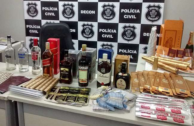 Polícia prende um dos maiores falsificadores de bebidas alcoólicas do País