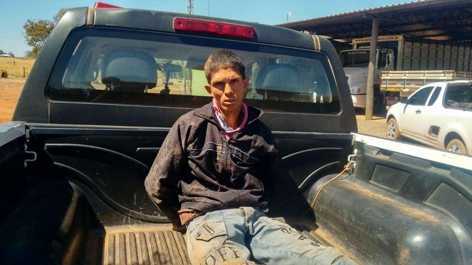PM prende homem suspeito de matar gêmeos em São Miguel do Araguaia