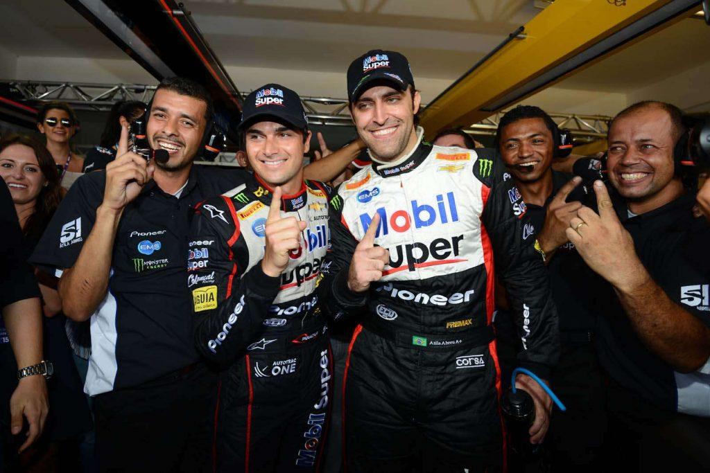 Stock Car: Átila Abreu e Nelsinho Piquet conquistam pole em Goiânia