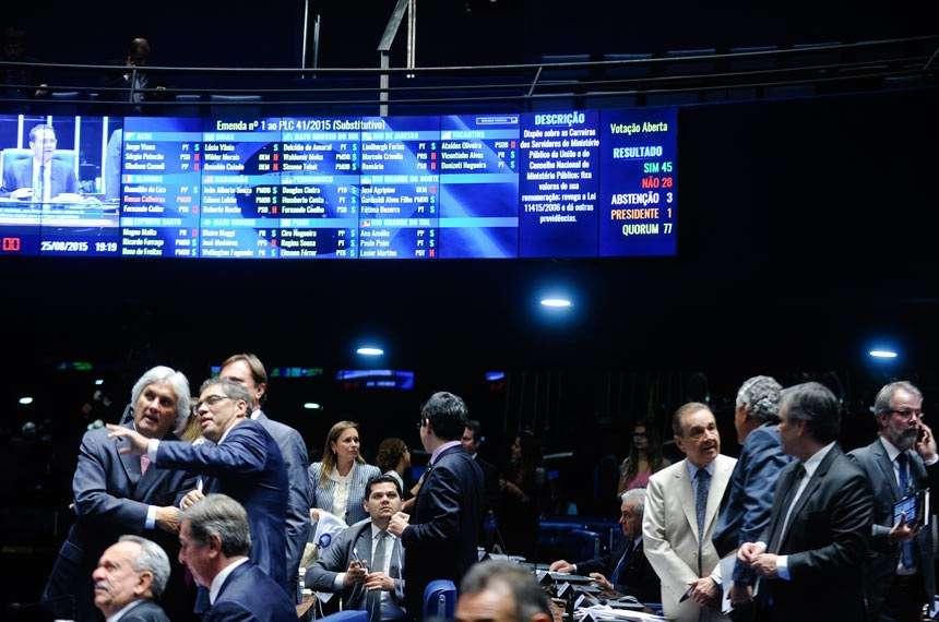 Senado aprova reajuste de 41% para servidores do Ministério Público Federal