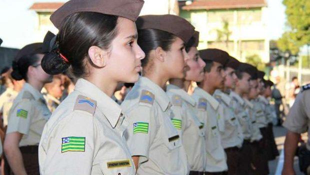 Colégio militar amplia unidades e dobra número de alunos