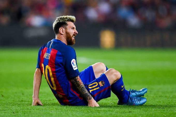 Argentina descarta Messi para próximos jogos das Eliminatórias por causa de lesão