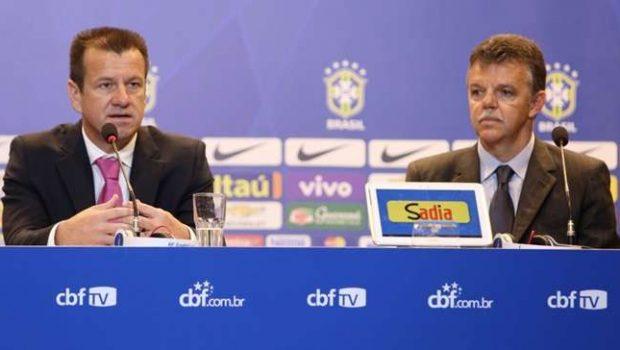 Dunga convoca seleção sem atletas que atuam no Brasil