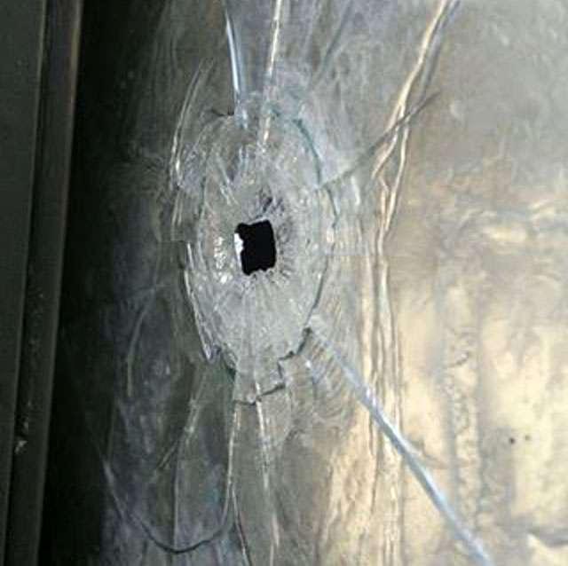 Bala perdida atinge apartamento de jornalista na Avenida Ricardo Paranhos