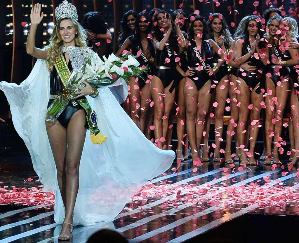 Miss Rio Grande do Sul, Marthina Brandt, é a nova Miss Brasil 2015
