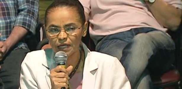 """Marina Silva: """"Votarei em Aécio e o apoiarei"""""""