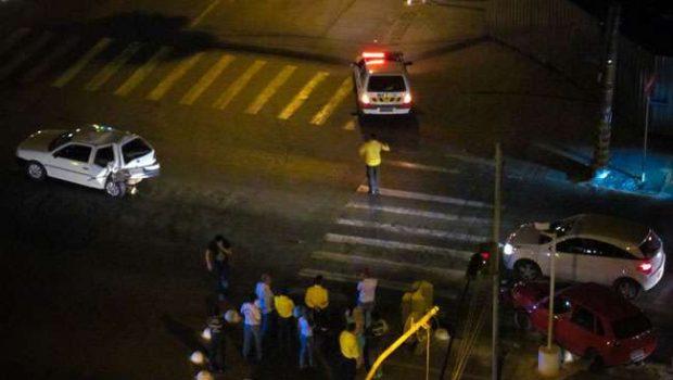 Dois acidente são registrados na noite dessa sexta-feira em Goiânia