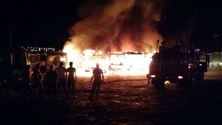 Bope e Graer reforçam policiamento em Jataí após queima de ônibus