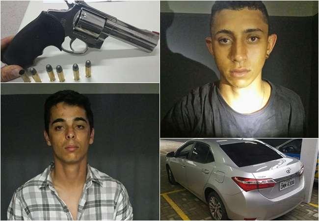 Polícia prende quadrilha que praticava roubos em Anápolis