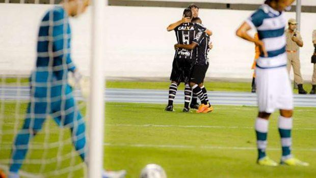 Em Belém, Goiás perde para Corinthians no Brasileirão